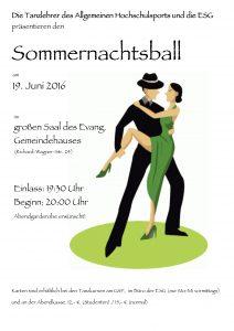 Sommernachtsball 2016 Plakat