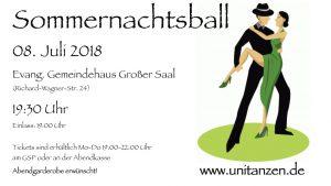 Sommernachtsball 2018 @ Evang. Gemeindehaus, Großer Saal | Bayreuth | Bayern | Deutschland
